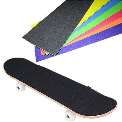 Pro Skateboard Deck Sandpaper Grip Tape Skating Board Longboarding 33*9""
