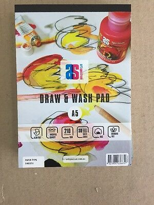 Art Spectrum Draw & Wash Pad A5 210gsm Smooth