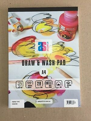 Art Spectrum Draw & Wash Pad A4 210gsm Smooth