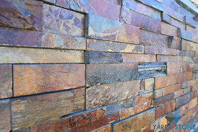Stack stone / Natural Stone wall Cladding / Stacked Stone - Stirling Gold