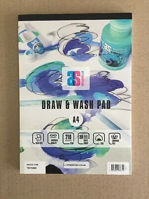 Art Spectrum Draw & Wash Pad A4 210gsm Textured