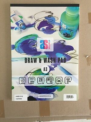 Art Spectrum Draw & Wash Pad A3 210gsm Smooth