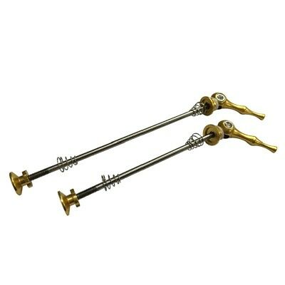 2pcs Quick Release Skewers Wheel Titanium QR wheel skewers Road Bike 100*130mm