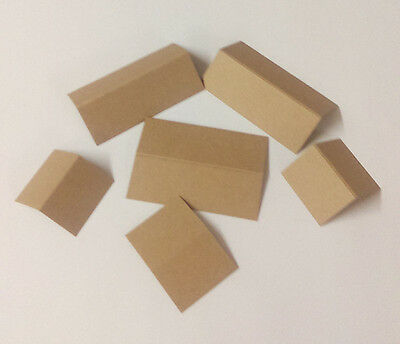 Brown Kraft Table Place Name Cards,Wedding Place Names, Card Blanks Free P+P