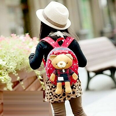 Cute Baby Kid Toddler Keeper Walking Safety Harness Backpack Leash Strap Bag