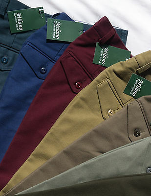 Milano Moleskin Country Trousers for Hunting/Shooting/Fishing, Mens