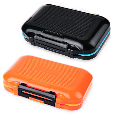 Waterproof Fly Fishing Lure Bait Hook Tackle Storage Box Case 12 Compartments