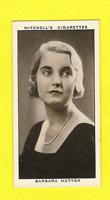 People - Stephen Mitchell & Son - A Gallery Of 1935 -  Barbara  Hutton  - 1936