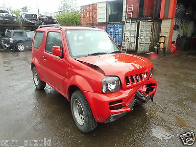 2008 Suzuki Jimny 1.3 Petrol In Red Breaking For Manual Complete Front Axle