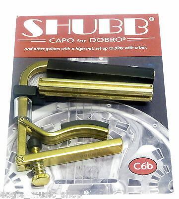 Shubb Capo C6b for Dobro, Resophonic, Resonator, Square Neck Guitars