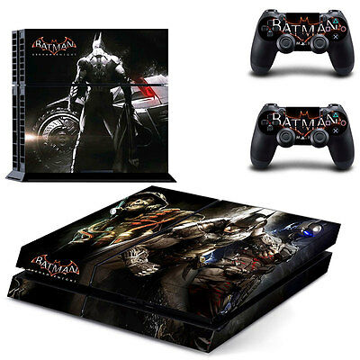 Hot Batman Skin Sticker Cover For PS4 Playstation 4 Console +2 Controller Decal