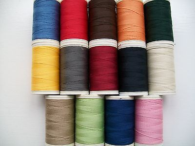 Coats Duet Polyester Sewing Thread 3 x 200 metre reels in assorted colours