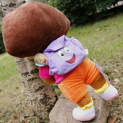 "New DORA THE EXPLORER 18"" Kids Girls Cuddly Plush Toys Soft and smooth Fine Gift"