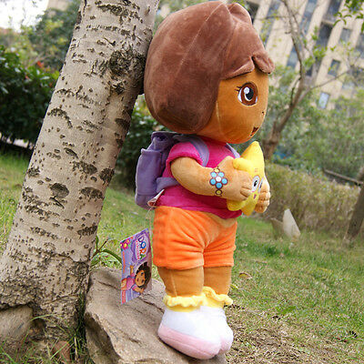"New 12"" DORA THE EXPLORER Kids Girls Cuddly Plush Toys Soft and smooth Fine Gift"