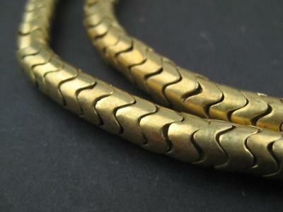 Brass Interlocking Snake Beads (7mm)