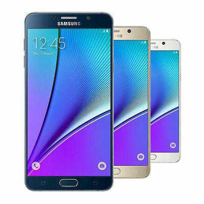 Samsung Galaxy Note 5 32GB SM-N920T GSM Unlocked Android Smartphone