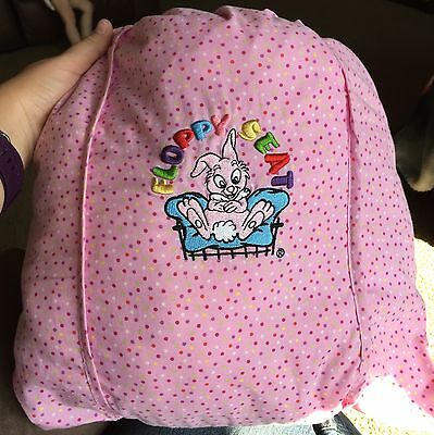 Floppy Seat Pink Dots Bunny Girls Shopping Cart Cover Plush