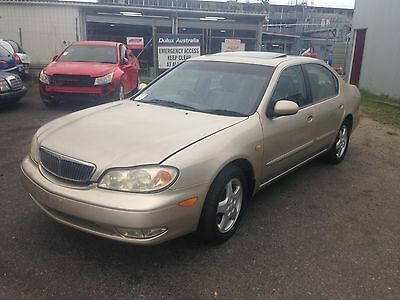 Wrecking 2001 Nissan Maxima Sedan for parts.