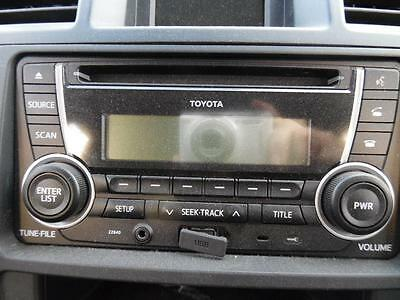 Toyota Kluger Radio,cd,usb Player Gsu40-Gsu45, 08/07-02/14