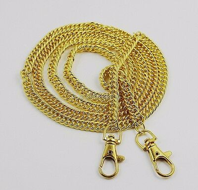 "120cm/ 47""  Shoulder Strap Chain Bags Replacement Handle For Purse bag Handbags"
