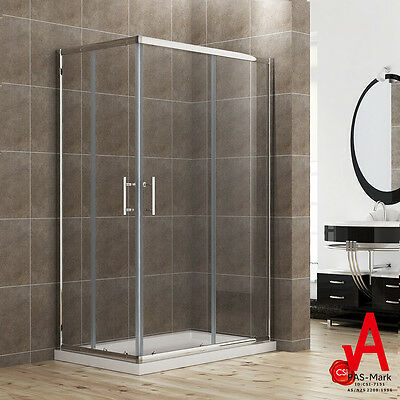 1000x900 FRAMED SHOWER SCREEN CUBICLE SQUARE