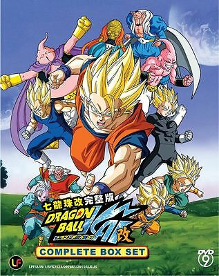 DVD Anime Dragon Ball Kai ( Vol. 1-159 End ) Complete Box Set *ENGLISH SUB*
