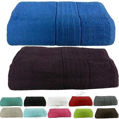 Egyptian Cotton Towels Hand Bath Sheet Extra Large Jumbo Bathroom Luxury 550 GSM