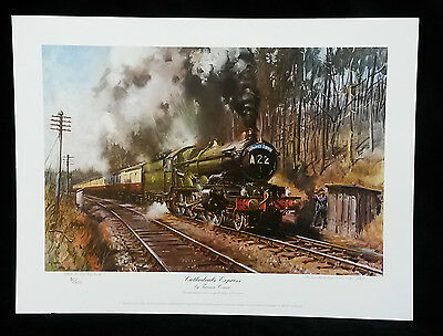 Cathedrals Express by Terence Cuneo,Limited Edition,Print