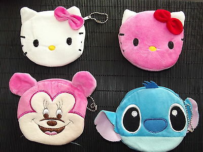porte monnaie fille disney et hello kitty