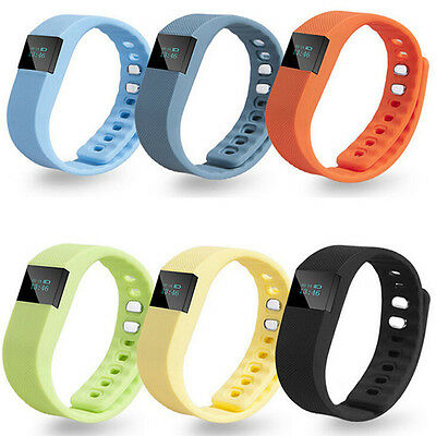 TW64 Bluetooth Smart Bracelet Sport Watch Step Calorie Fitness Tracker Pedometer