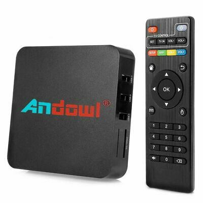 MXQ PRO 4K 1GB Smart IPTV BOX XBMC SISTEMA Android7.1 Penta Core 64bit WiFi 8GB