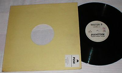 "Mister B 12"" Maxi 1993 Fascinated 45 Rpm Electronic Italodance Techno Brainstorm"