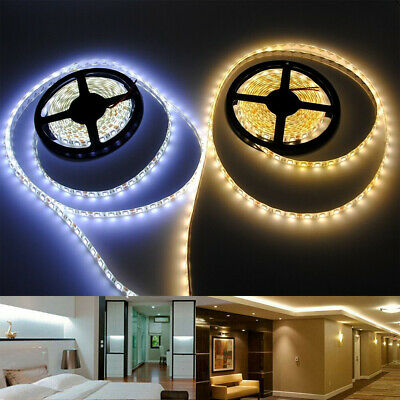 5M 5050 3528 SMD RGB LED Strip Light Waterproof 300 led Bright Flexible Lamp 12V