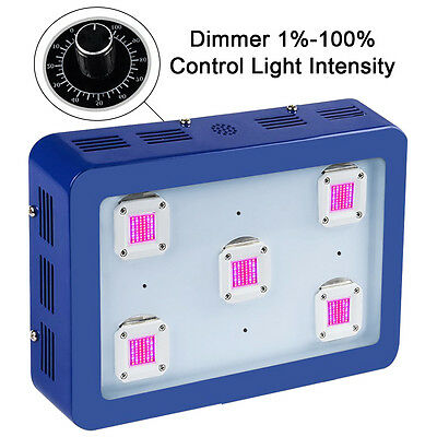 Bestva X5 1500W Dimmable LED Grow Light Full Spectrum for growth and flowering