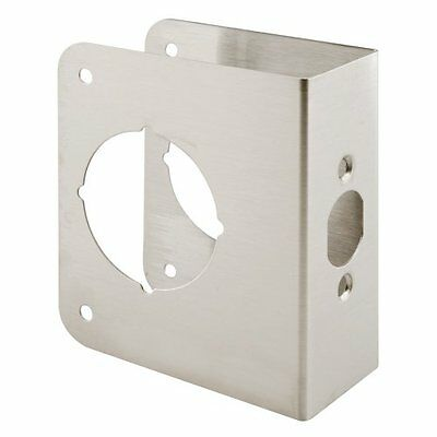 Prime-Line Products U 9590 Door Reinforce 1-3/4-Inch Thick by 2-3/8-Inch Backset