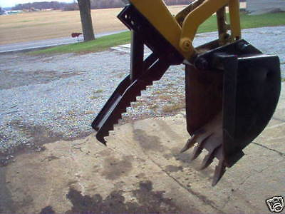 24 inch Linville Backhoe thumb