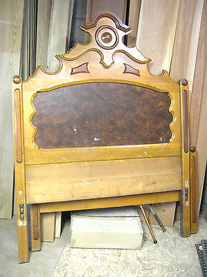Antique/Vintage Widdicomb Furniture Co Victorian? French Provenial? Bed Oak