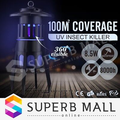 Insect Zapper Mosquito Killer Trap Electric Pest Fly Catcher Terminator UV Bug