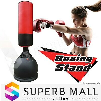 Home Gym Punching Free Standing Bag Dummy Target Fitness Practice  Boxing Stand