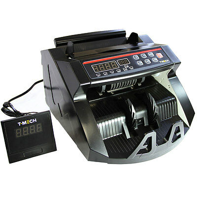 Money Counting Machine Bank Note Currency Counter Electronic Fake Cash Detector