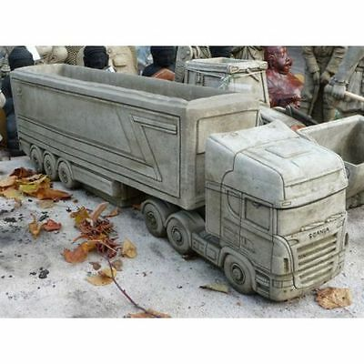 Scania Artic Lorry Stone Garden Ornament Planter