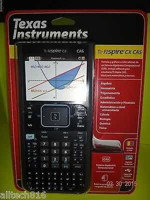☆Brand New ☆TI Nspire CX CAS Graphing Calculator (in Spanish) Texas Instruments