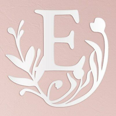 Fairy Tale Acrylic Wedding Decoration in White Single Letter X