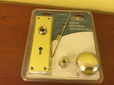 ILCO Replacement Mortise Lock Brass New Skeleton #215-04-51 (free shipping)