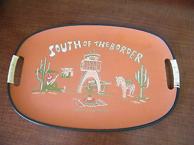 Vintage Iconic South of the Border Serving Tray South Carolina Pedro Advertising