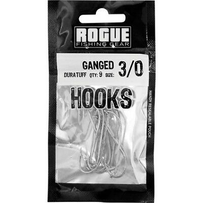 Rogue Ganged Hook 3/0 9pk Pre Pack