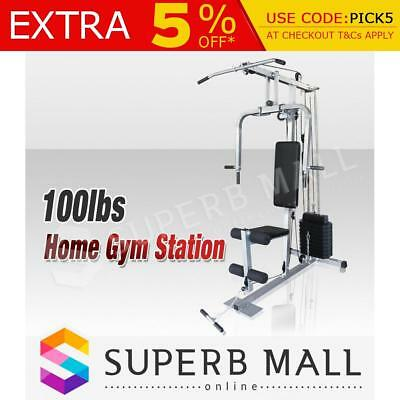 Multi-Station Weight-lift Weight Bench Home Gym Equipment Dumbbell Fitness