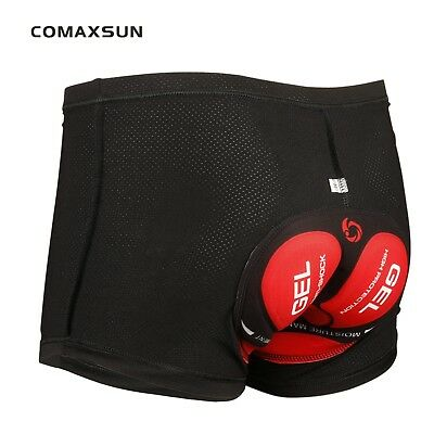 Mens 3D GEL  Cycling Underwear Padded Bike Bicycle Shorts Comfortable 2 Color