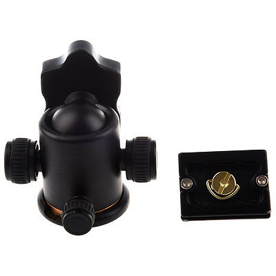 F8 Beike Pro Metal Ball Head + Quick-release Plate for Monopod Tripod & DSLR Cam