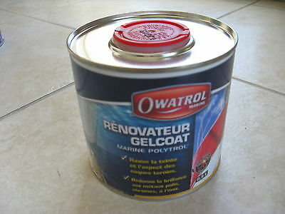 Polytrol  0.5L Renovateur Gel-Coat, Inox, Chrome Etc